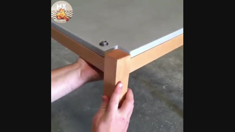 Необычное деревянное соединение tricks lf