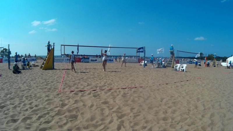 Beach volley Russia Solnechnoe 2018 W 06 Tsyganova-Terentyeva and Rudykh-Zayonchkovskaya