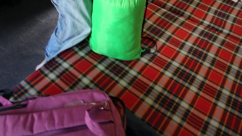 спальник и одеяло