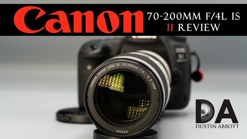 Canon EF 70-200mm f/4L IS II: Final Review | 4K