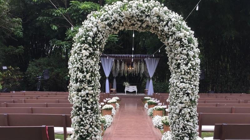 Como Fazer Arco para cerimônia de casamento ( sem floral) ‹ Art Fleur ›