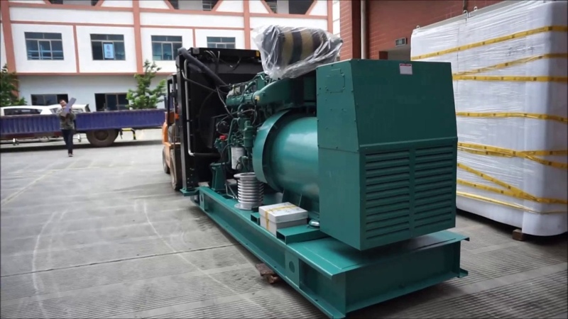 725 KVA 3 Phase 50Hz 6 Cylinder Volvo Diesel Generator Set - Starlight Power