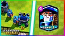 Clash Royale - Neutral Wizzard New Legendary Card concept Gameplay + Download