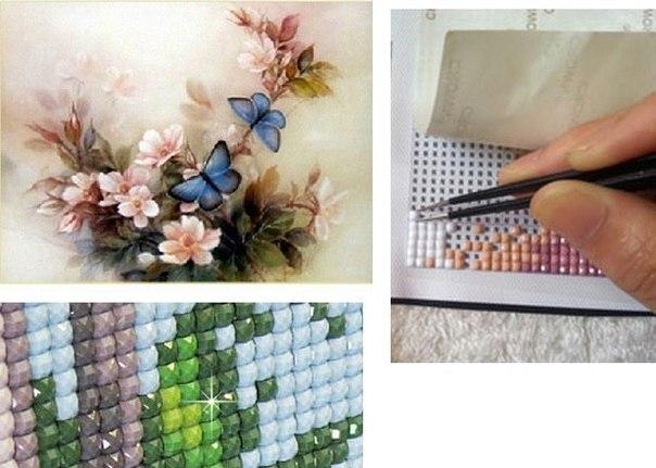 вышивки и ковровой техники