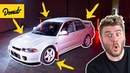 The Sleeper Rally Car Lancer EVO II Everything Inside Out