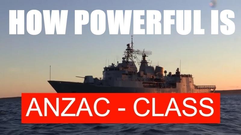 FACTS ABOUT ANZAC CLASS AUSTRALIA NEW ZEALAND FRIGATE