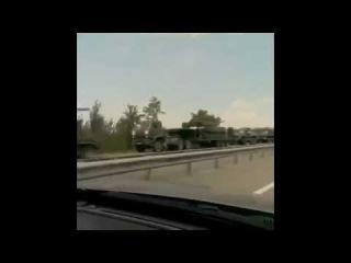 Ростов-на-Дону. Колонна тягачей с танками | 31 июля Сегодня Новости
