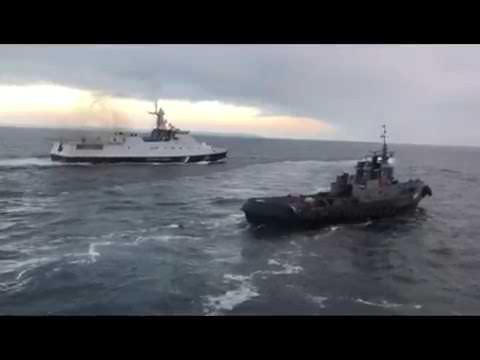 Явка с повинной. Таран кораблем российских оккупантов украинского буксира у Керченского моста