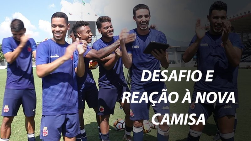 DESAFIO E REAÇÃO DOS JOGADORES À NOVA CAMISA DO VASCO