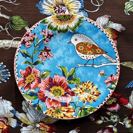 Расписная тарелочка -