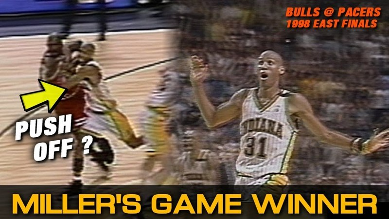 Reggie Miller Hits Game-Winner in 1998 Eastern Conference Finals! (Post Game Alternate Version)