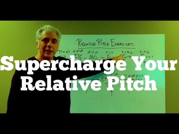 How To Supercharge Your Relative Pitch | Like Perfect Pitch!