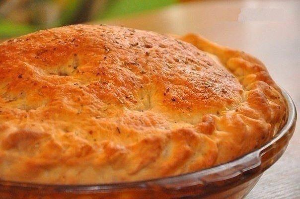 Пирог с мясом «Быстро
