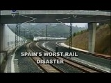 Катастрофа в Испании: Крушение поезда