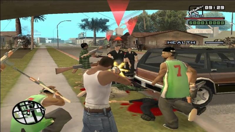 GTA San Andreas DYOM Defend da Grove