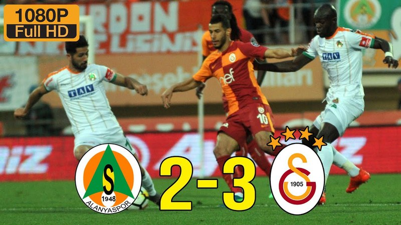 Alanyaspor 2 - 3 Galatasaray | Maç Özeti 21 Nisan 2018