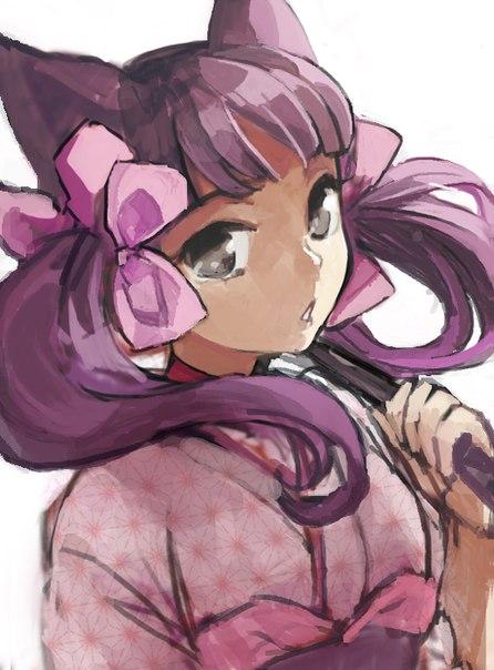 аниме девушка демон дзакуро: