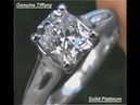 Tiffany Company Lucida GIA Certified FLAWLESS E Color Diamond PLATINUM Engagement Ring A141574