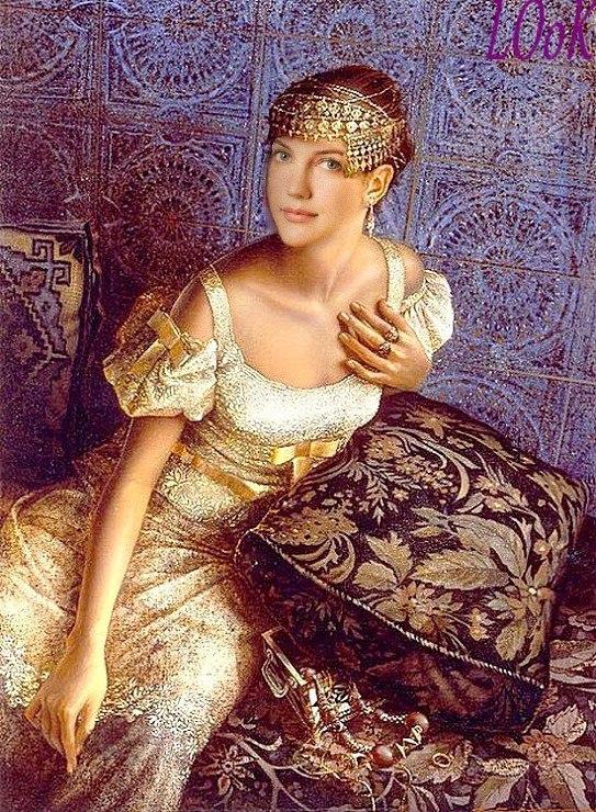 Женские платья времен османской империи