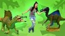 Динозавры. Игрушки для детей от Gulliver. Фигурки животных, как настоящие