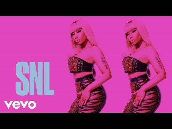 Nicki Minaj - Chun-Li (Live on SNL / 2018)