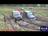 Гелендваген против УАЗа по грязи