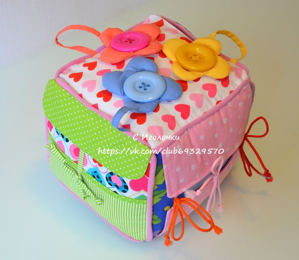 Развивающий кубик для малыша (8 фото) - картинка