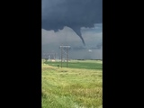 Tornado near Dodge, North Dakota  July 14, 2018