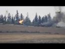 Джунд Бадр 313 пожгли танки САА в Растанском котле