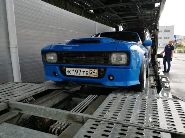 Москвич-2140 на базе BMW 3 серии