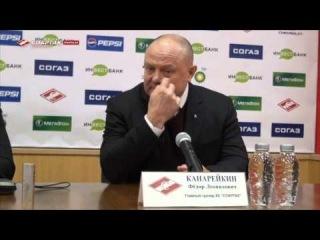 Спартак (Москва) – Северсталь (Череповец) – Пресс-конференция (29.01.14)