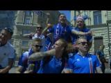 Аргентинцы и исландцы перед матчем в Москве