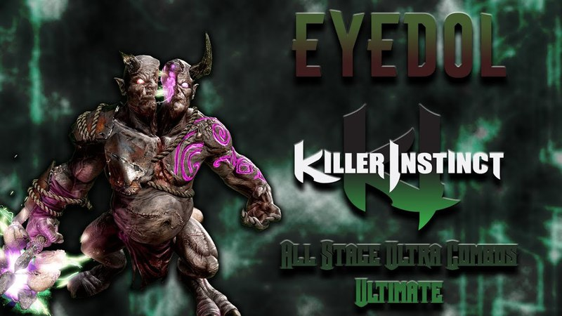 Killer Instinct - Eyedol - All Stage Ultra Combo 3