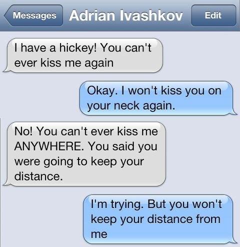 хочется целовать тебя долго: