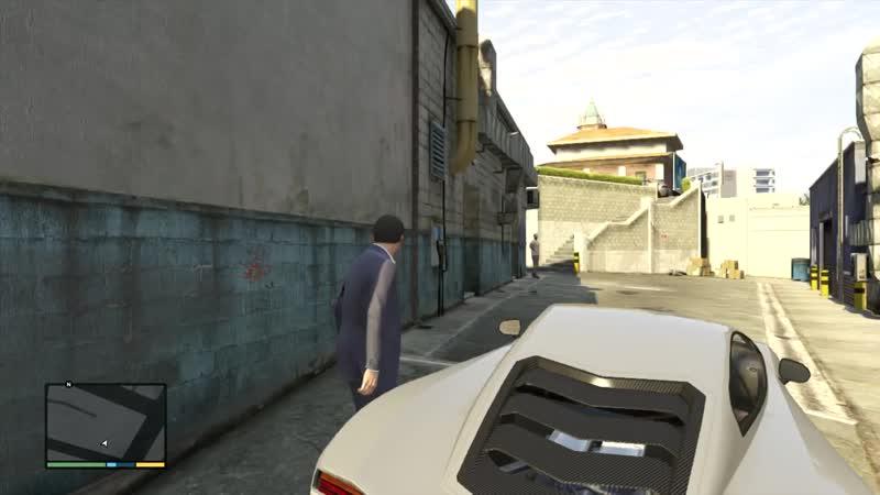 [RusGameTactics] Прохождение Grand Theft Auto V (GTA 5) — Часть 65 Ламар в беде (Лесопилка)