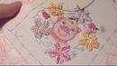 МК по вышивке Хрюндель в цветах ч 6 вышиваем розу