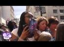 Мартина Штоссель в Париже.Встреча с фанатами♥))