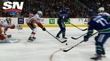 Pettersson's Sedin-Like Assist Gets Mom, Dad Out Of Seats