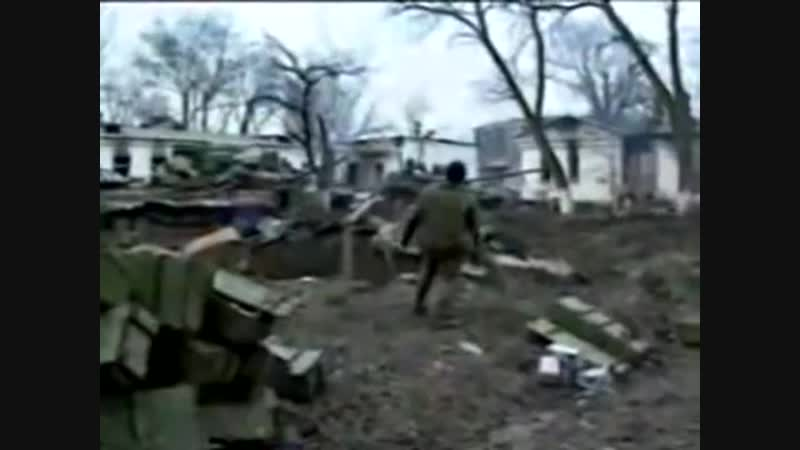 Видеорепортаж штурма Дворца в Грозном 1994 1995 гг