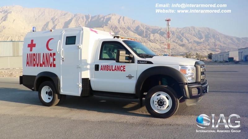 IAG F550 Armored Ambulance
