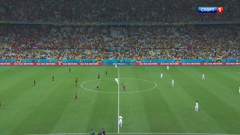 26 06 2014 Футбол Чемпионат мира 3 тур Группа Н Южная Корея Бельгия