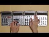 Тема из Супер Марио на калькуляторах