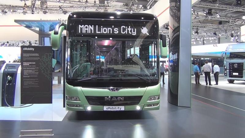 MAN Lion's City eMobility Electric Bus (2017) Exterior and Interior
