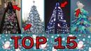 TOP 15 nejšílenějších vánočních stromků