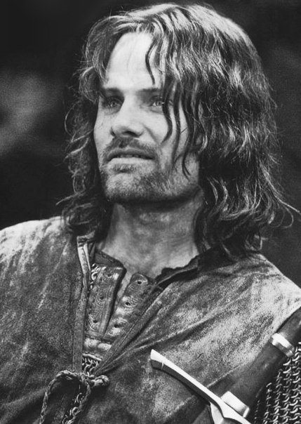 aragorn depicted as a type of When aragorn leaves for the paths of the dead in the books, eowyn has a conniption and essentially accuses him of being a sexist pig: all though he's essentially a court jester in the movies, tolkien envisioned him as a grim character, for the most part, laughing only occasionally, and, though in a.