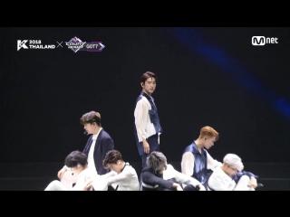 GOT7 - Lullaby @ KCON 2018 Thailand 181011
