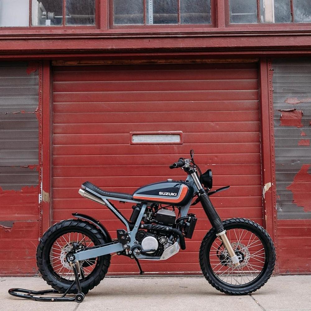 Federal Moto: кастом Suzuki DR-Z400