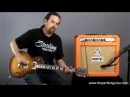Orange Rockerverb 50 MK II Combo Amp Demo The Perfect Guitar