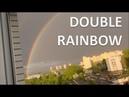 Double rainbow West Wiberia