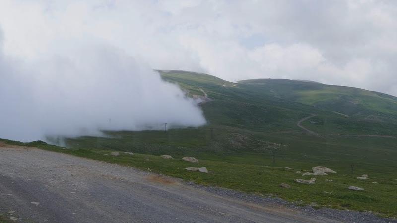 Дорога Бакуриани - перевал Цхрацкаро - Гадолари